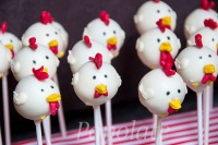 Hen party cake pops