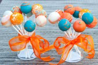 Brave the movie cake pops