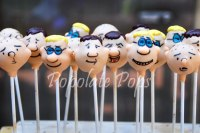 The Ricky Gervais show cake pops