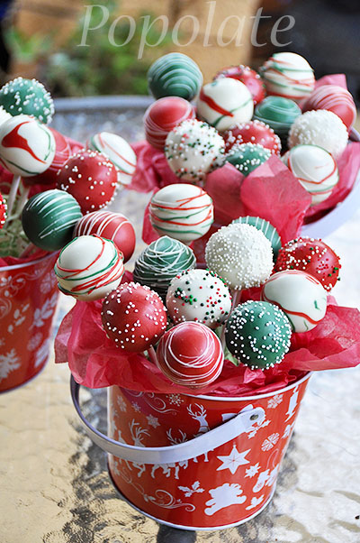Holiday Cake Pops Starbucks