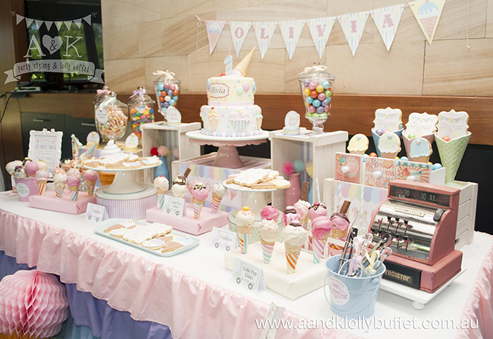 A&K lolly buffet with cake pops