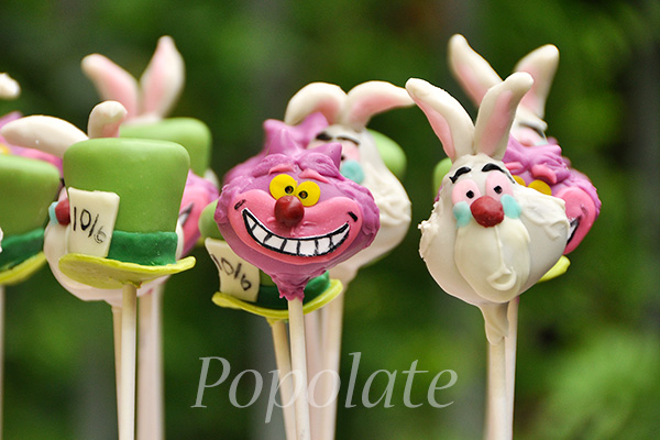 how to make mad hatter cake pops