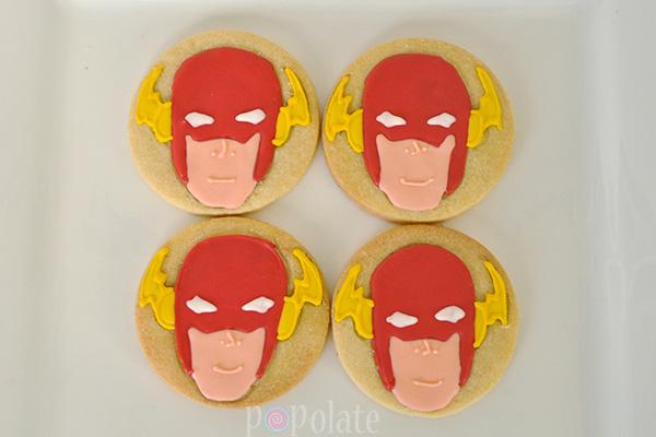 Flash cookies supehero
